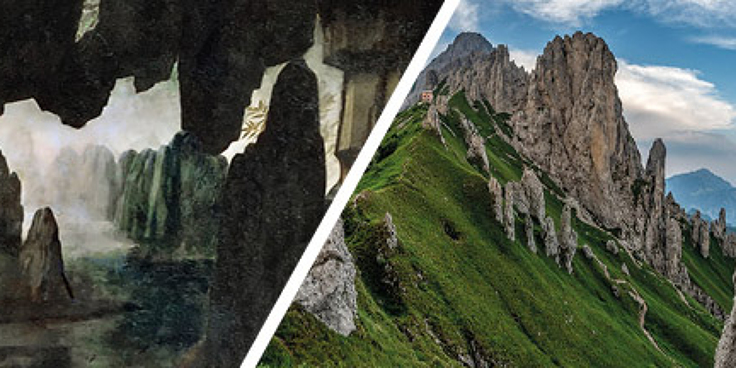 Atlarte, percorsi di Geografia e Arte: Toscana e Lombardia nei paesaggi di Leonardo
