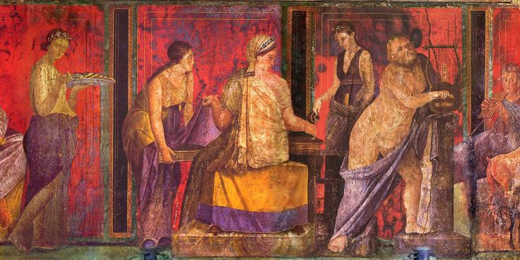 La pittura romana: artificio e meraviglia