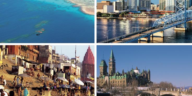 Dall'India alla Malesia, dalle Hawaii al Canada: it's time to travel!