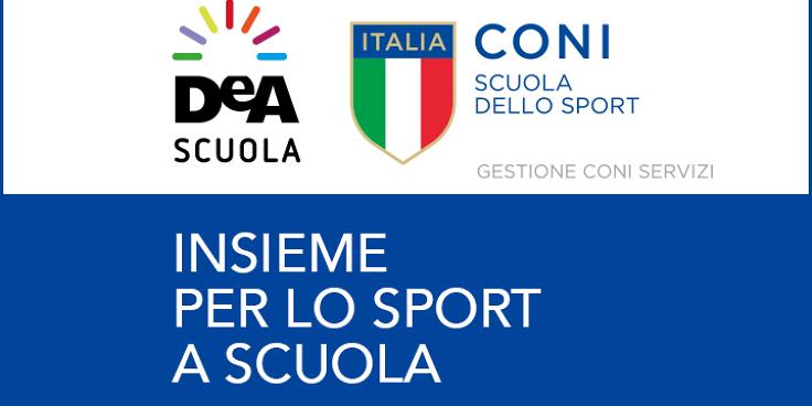 De Agostini Scuola e CONI insieme per lo sport a scuola