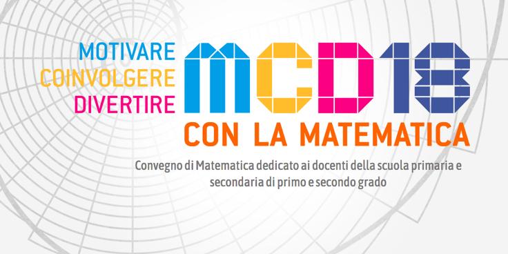 """""""Motivare, Coinvolgere, Divertire con la Matematica"""", al via l'edizione 2018"""