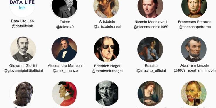 E se Machiavelli o Hegel avessero i social? Ecco come portare i grandi della storia su Instagram con i tuoi alunni