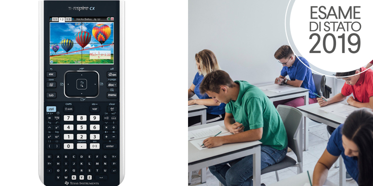 La simulazione di seconda prova scritta di Matematica e Fisica con l'uso della calcolatrice grafica TI Nspire CX (Texas Instruments)