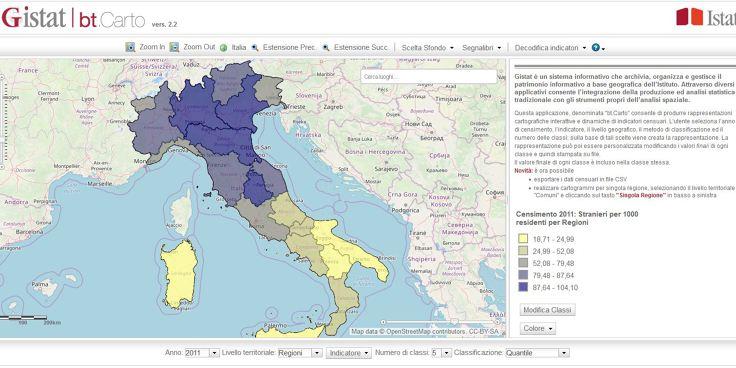 Gli strumenti digitali per la geografia - 6: Gistat bt.Carto