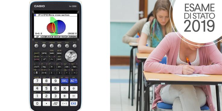 La simulazione di seconda prova scritta di Matematica e Fisica con l'uso della calcolatrice grafica CASIO FX-CG50